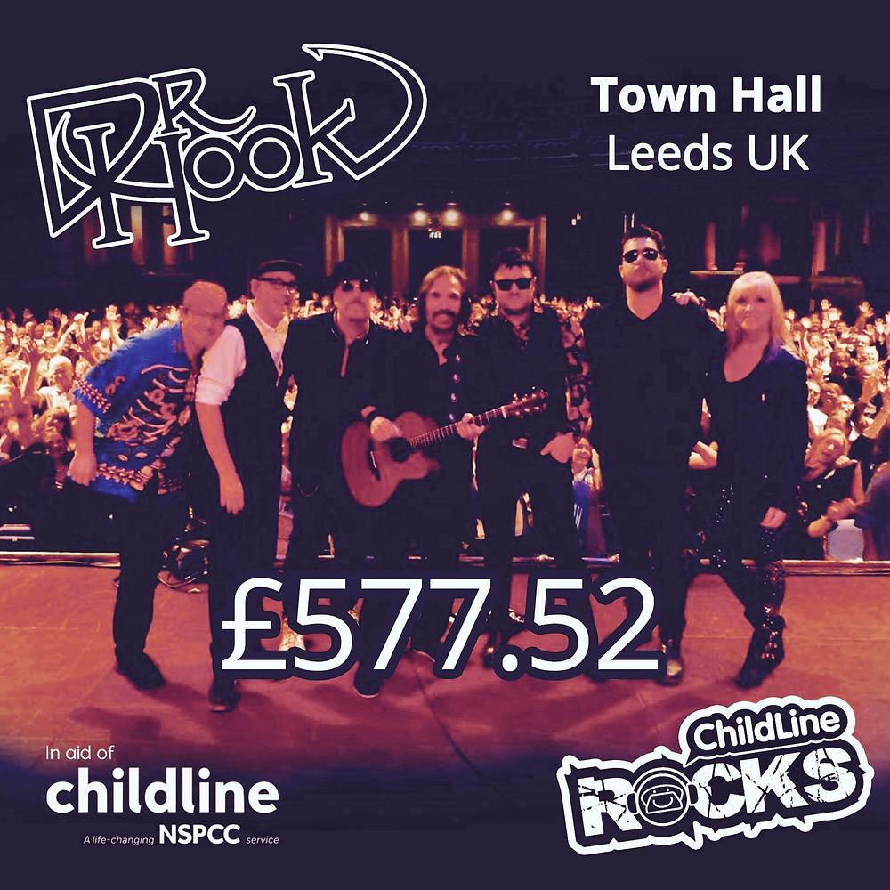 Dr Hook | Fundraising for NSPCC Childline | Leeds | 2017