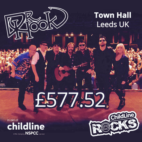 Dr Hook | Childline Fundraising | Town Hall | Leeds 🙌