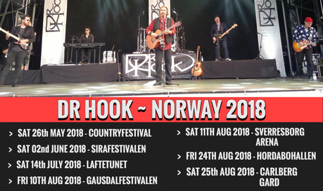 Dr Hook | Norway 🇳🇴 2018