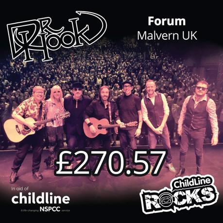 Dr Hook |Childline Fundraising | Malvern 🙌
