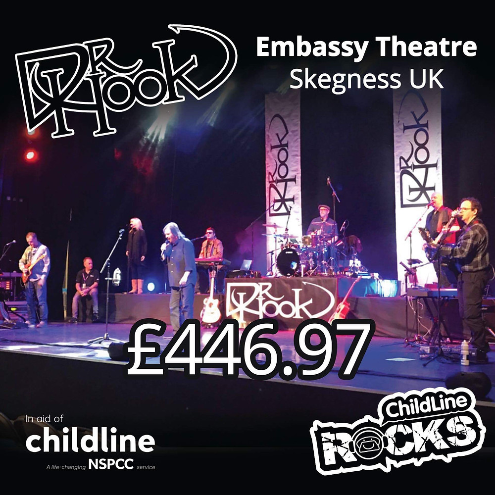 Dr Hook | Fundraising 2017 | NSPCC Childline | Skegness | UK