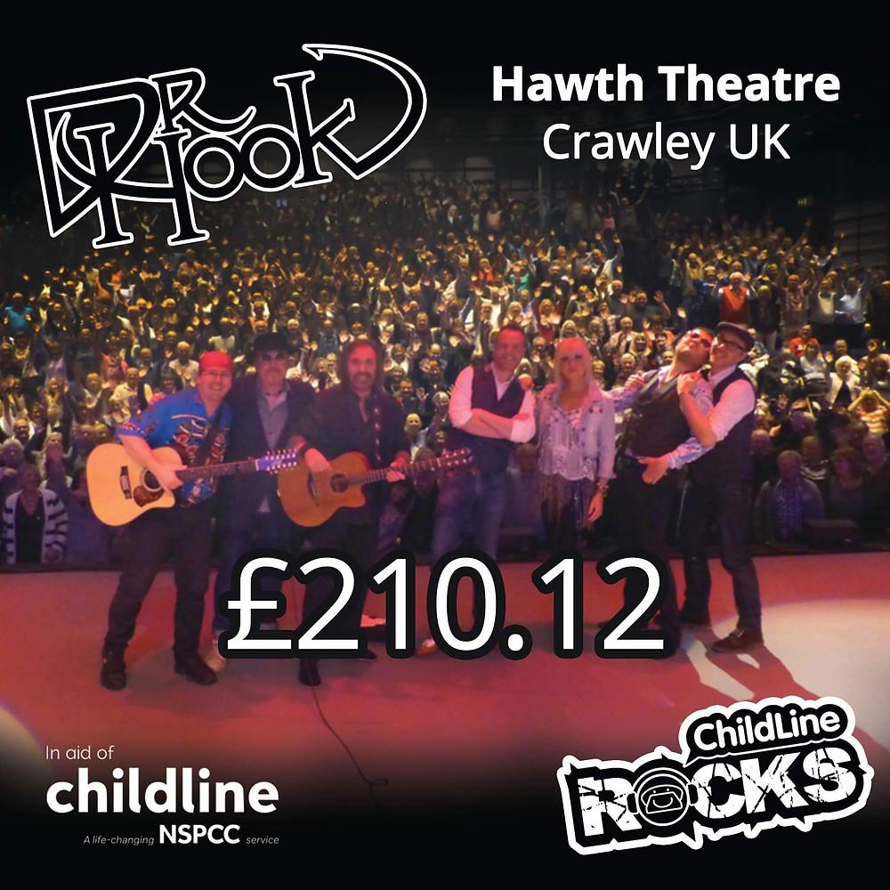 Dr Hook | Childline Fundraising | Hawth Theatre | Crawley | UK | 2017