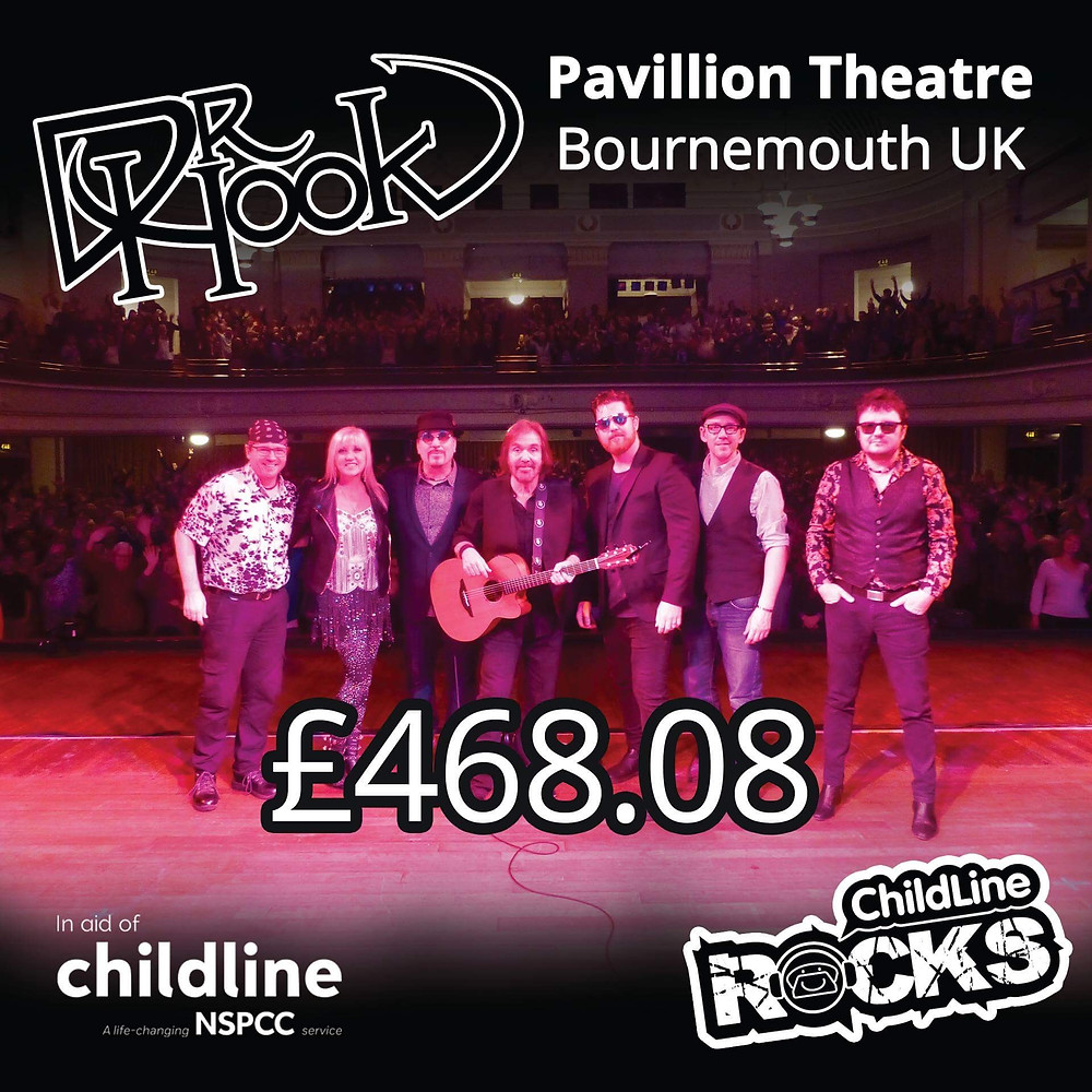 Dr Hook | Fundraising for NSPCC Childline | Bournemouth | UK | 2017