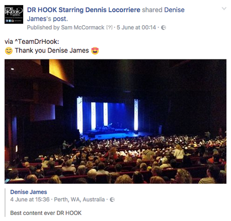 Dr Hook Starring Dennis Locorriere | Review 👊🏼