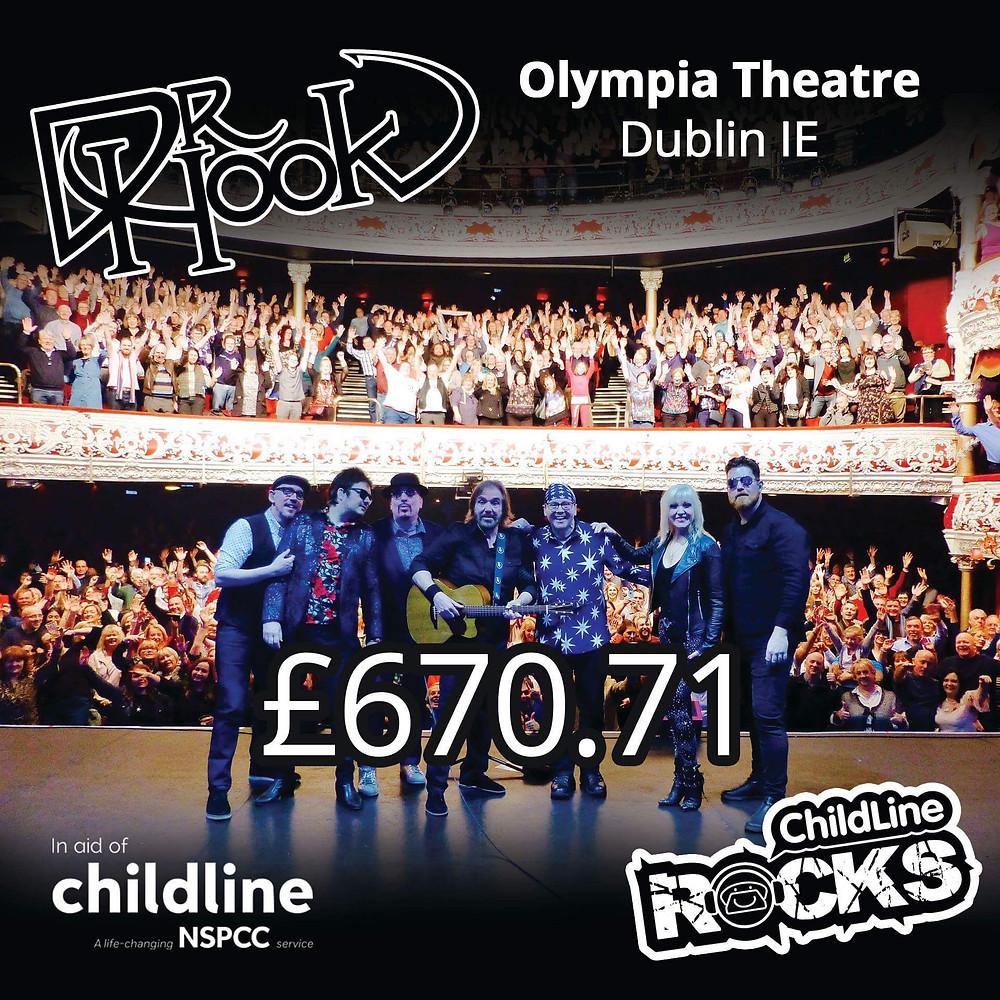 Dr Hook | Fundraising | Childline NSPCC | Dublin | 2017