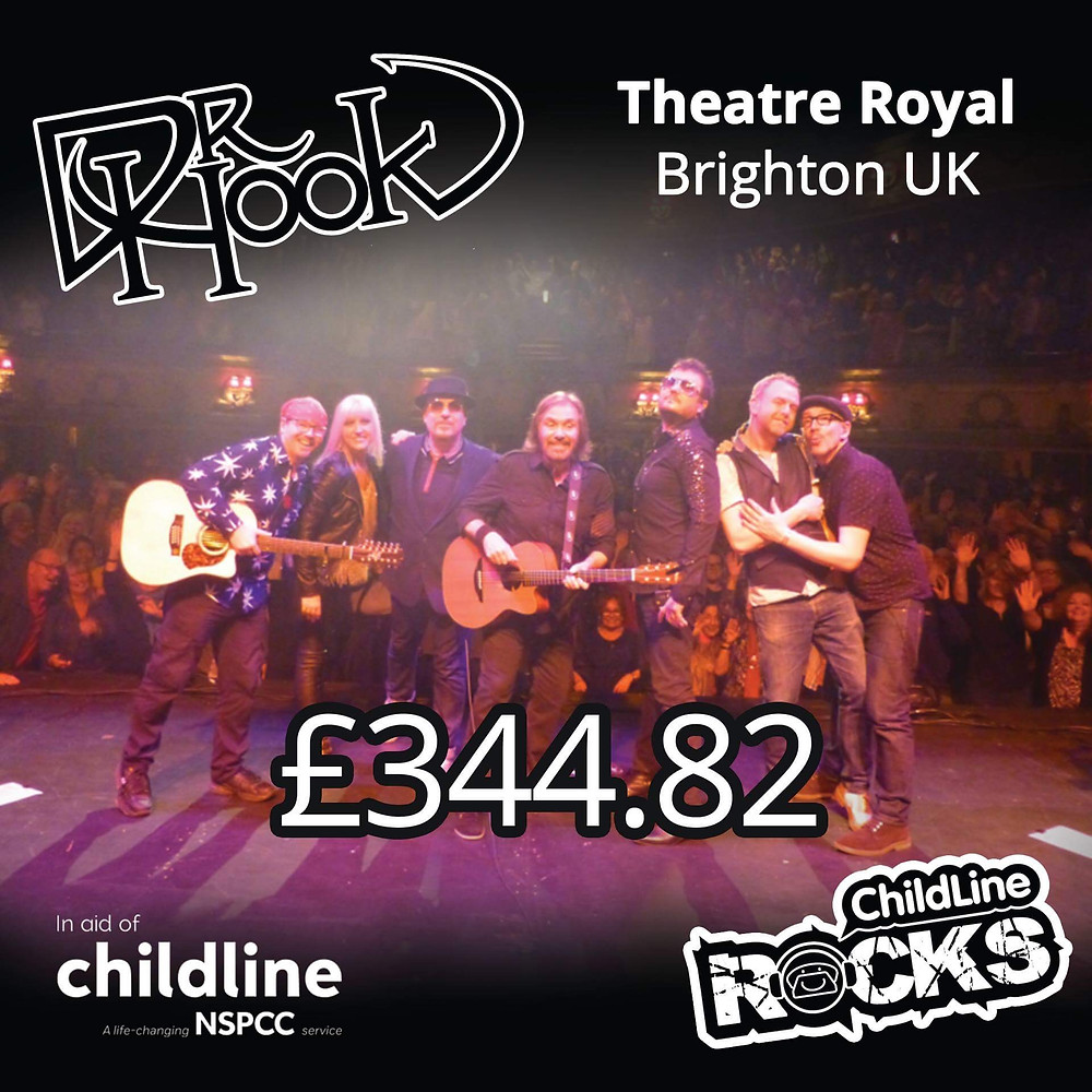 Dr Hook | 2017 Fundraising | Childline | NSPCC | Brighton | UK