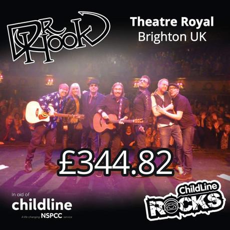 Dr Hook |Childline Fundraising | Theatre Royal | Brighton 🙌