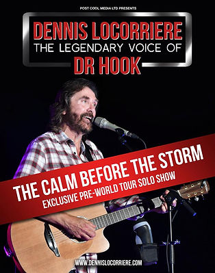 DENNIS LOCORRIERE presents DR HOOK™  UK 2015