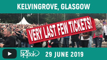 DR HOOK | Kelvingrove, Glasgow, Scotland 2019 | Very Last Few Tickets!!! 🙌🏼