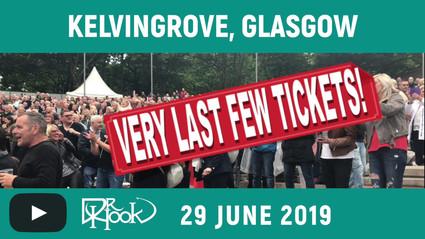 DR HOOK | Kelvingrove, Glasgow, Scotland 2019 | Very Last Few Tickets!!! 🙌🏼