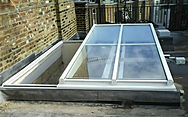 Semi Retracting, Slide Open Glazed Roof, Rooflight, Roof Lantern, Skylight