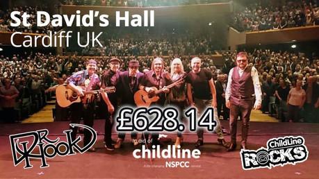Dr Hook |Childline Fundraising | Cardiff 🙌