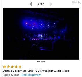 DENNIS LOCORRIERE presentsDR HOOK™-AUSTRALIA 2015