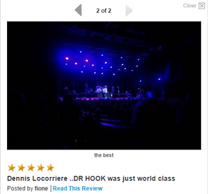 DENNIS LOCORRIERE presents DR HOOK™ - AUSTRALIA 2015