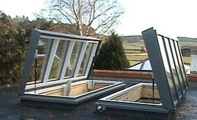 Lift Top Opening Roof Lights - ORCHD
