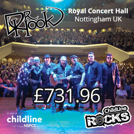 Dr Hook Fundraising | NSPCC Childline | Nottingham UK