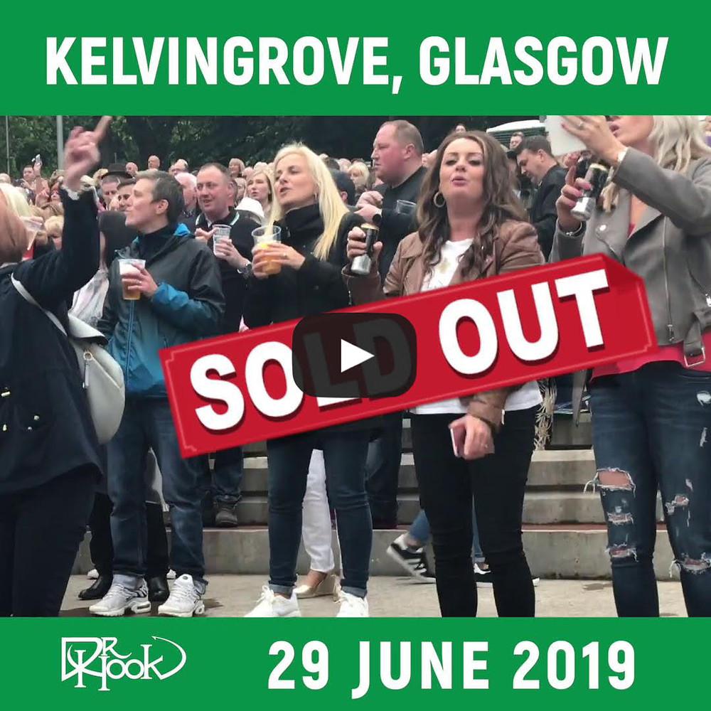 Dr Hook   Kelvingrove, Glasgow, Scotland 2019   Sold Out