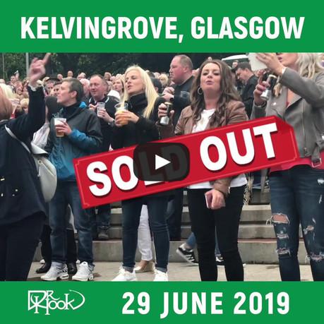 DR HOOK | Kelvingrove, Glasgow, Scotland 2019 | SOLD OUT 🙌🏼
