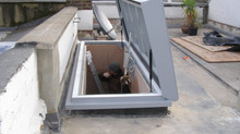 ROOF ACCESS SOLUTIONS | Lift-Top / Hinged Roof Access Rooflight