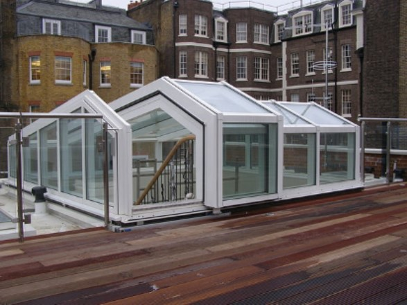 Contemporary Roof Access Enclosure