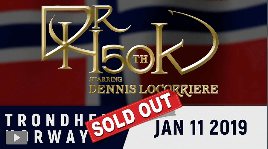 Dr Hook 50th Anniversary World Tour 2019 | Trondheim, Norway 2019 - Sold Out