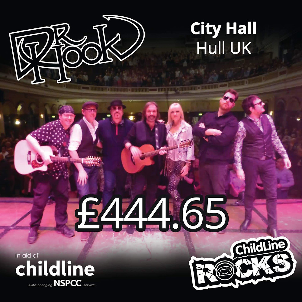 Dr Hook | Fundraising for NSPCC Childline | Hull | 2017