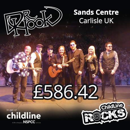 Dr Hook |Childline Fundraising | Sands Centre | Carlisle 🙌