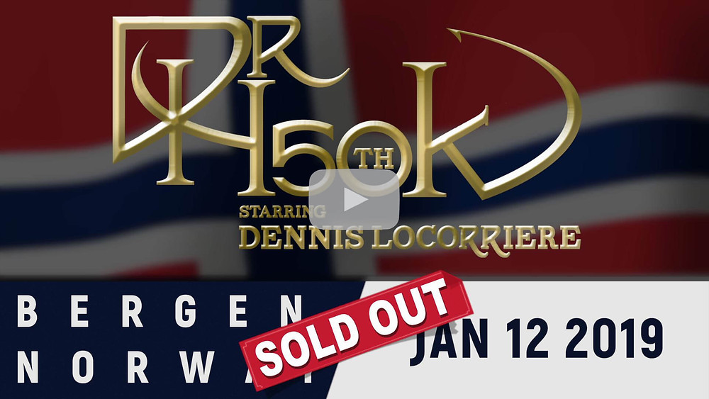 DR Hook 50th Anniversary Tour | Bergen, Norway | Sold Out