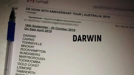 Dr Hook 50th Anniversary Tour | Australia 2019 | Cities Announced! 🇦🇺