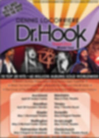 DENNIS LOCORRIERE presents DR HOOK™  The Timeless World Tour New Zealand 2015