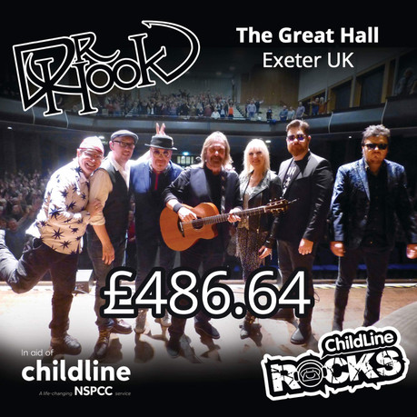 Dr Hook | NSPCC Childline | Fundraising | Great Hall Exeter