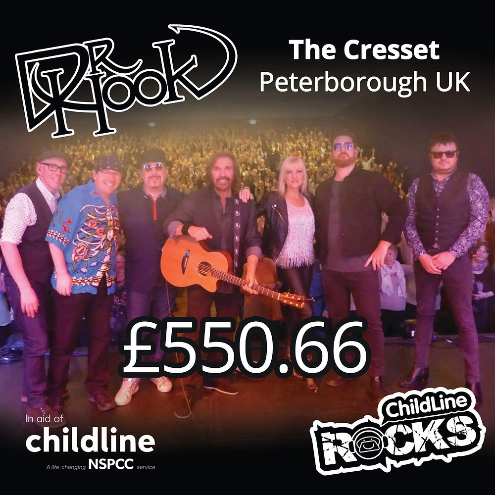Dr Hook | Fundraising for NSPCC Childline | Peterborough | 2017