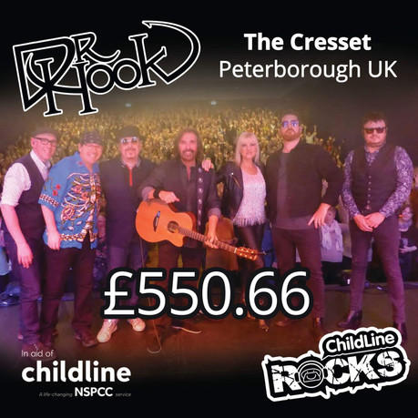 Dr Hook | Childline Fundraising | The Cresset | Peterborough 🙌