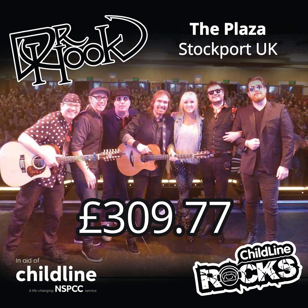 Dr Hook | Fundraising | NSPCC Childline | Stockport