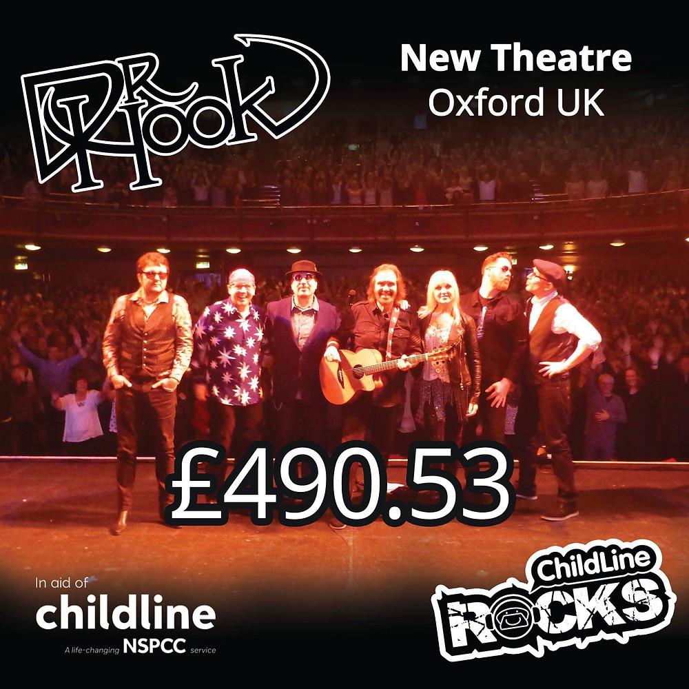 Dr Hook | Fundraising for NSPCC Childline | Oxford | UK | 2017