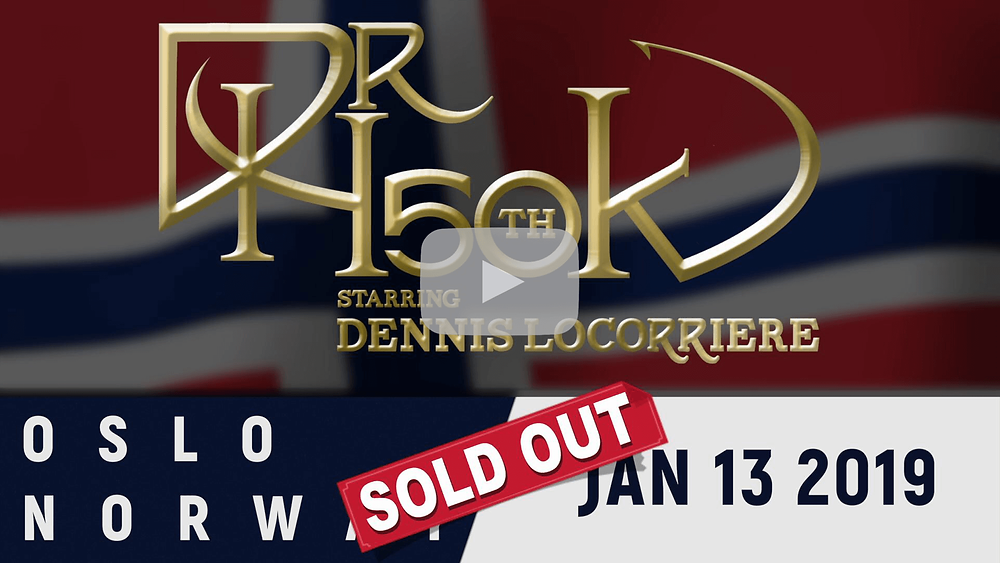 Dr Hook | 50th Anniversary Tour | Oslo Norway 2019 | Sold Out