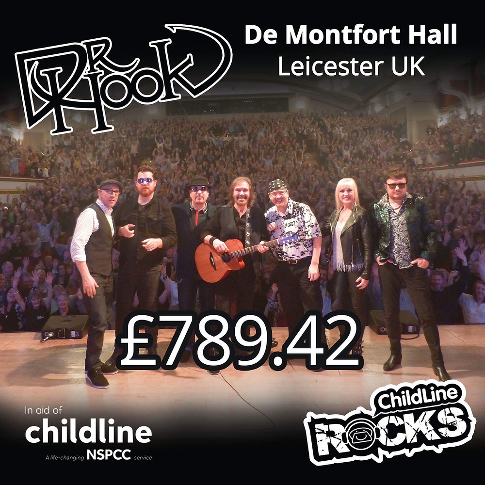 Dr Hook | Fundraising for NSPCC Childline | Oxford | UK | 2017