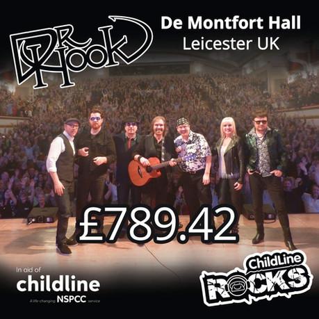 Dr Hook |NSPCC Childline Fundraising | De Montfort Hall | Leicester | UK