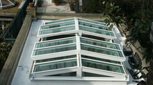 OPENING GLAZED ROOF SOLUTIONS | Bi-Parting Slide Open Glazed Roof, Rooflight