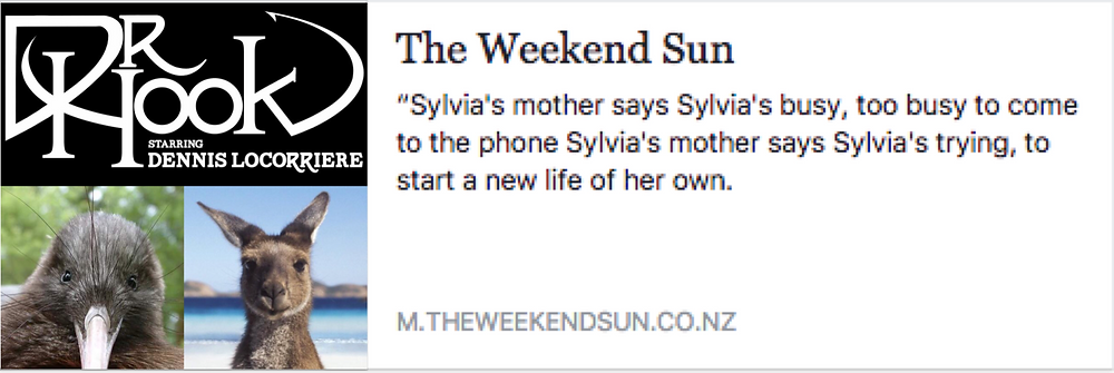 Dr Hook Dennis Locorriere on Sylvia's Mother in the Weekend Sun