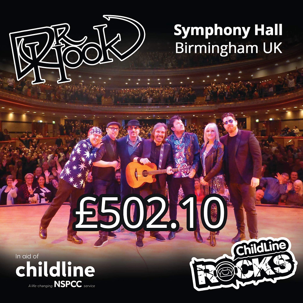 Dr Hook | Fundraising for NSPCC Childline | Birmingham | UK | 2017
