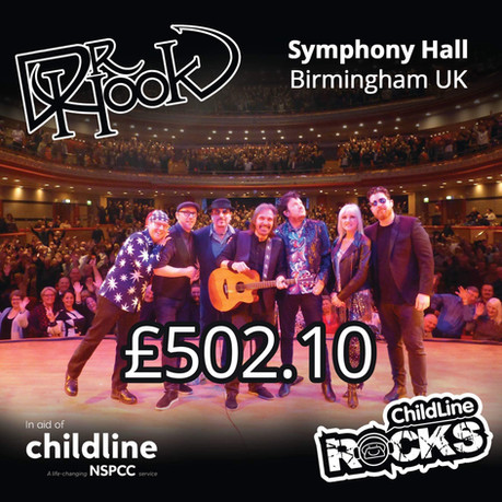 Dr Hook | NSPCC Childline Fundraising | Symphony Hall | Birmingham | UK