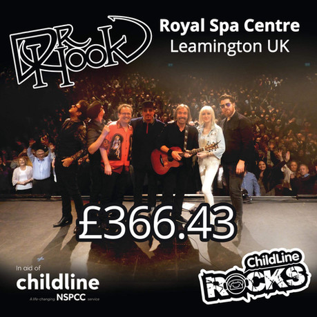 Dr Hook | NSPCC Childline Fundraising | Royal Spa Centre | Leamington Spa | UK