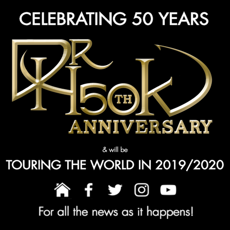 🔥DrHook 50th Anniversary World Tour 2019/20 🔥
