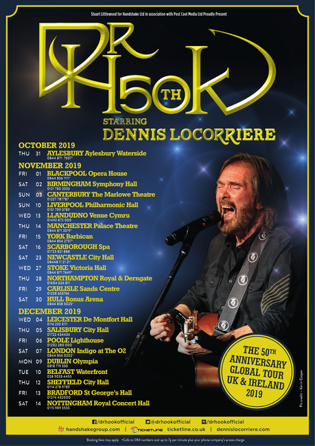 Dr Hook 50th Anniversary Tour | UK & IE 2019