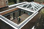 Fully Retracting, Slide Open Glazed Roof, Rooflight, Roof Lantern, Skylight