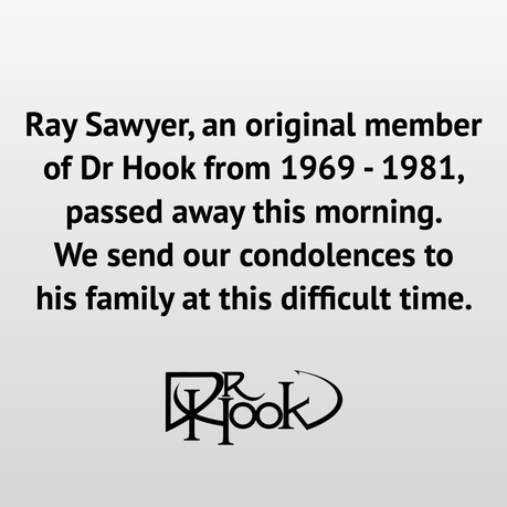 Ray Sawyer | Original Dr Hook Member from 1969-1981