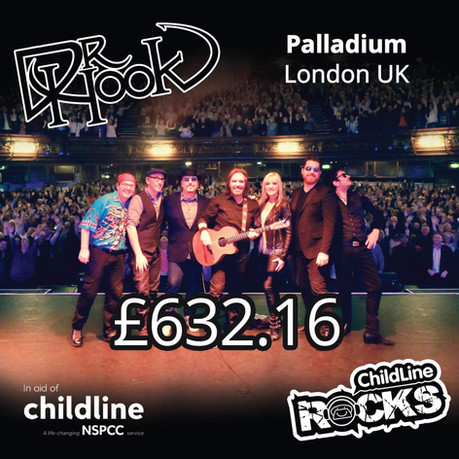 Dr Hook | NSPCC Childline Fundraising | The Palladium | London | UK