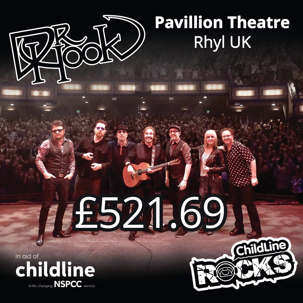 Dr Hook | Fundraising for NSPCC Childline | Rhyl | Wales | 2017