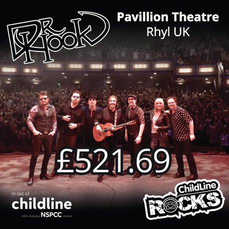 Dr Hook | NSPCC Childline Fundraising | Pavilion Theatre | Rhyl | UK